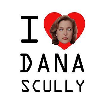 I Heart Dana Scully by gnarlynicole