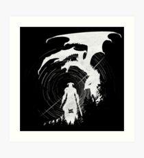 Dragon Fighter Art Print