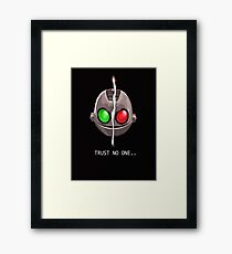 Clank & Klunk - Trust No One Framed Print