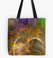 Fire On High (Art & Poetry) Tote Bag