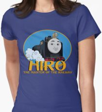 Hiro - The Master of the Railway Womens Fitted T-Shirt