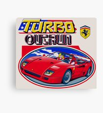 Turbo Outrun Canvas Print