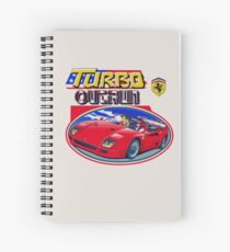 Turbo Outrun Spiral Notebook