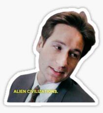 Alien Civilizations Sticker