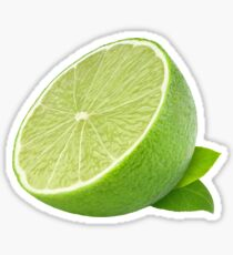 Piece of lime Sticker