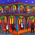 Mardi Gras Cats by Ryan Conners