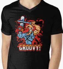 Earthworm Ash Men's V-Neck T-Shirt