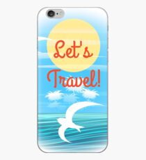 Vinilo o funda para iPhone Travel theme