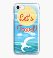 Travel theme iPhone Case/Skin