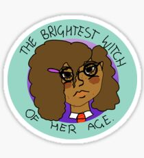 The Brightest Witch Of Her Age Hermione Granger Sticker