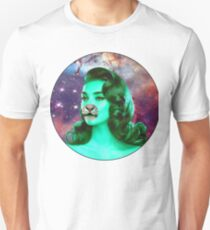 Psychedelic Tiger Pin Up Unisex T-Shirt