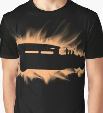 1930 Ford Rat Rod flames Graphic T-Shirt