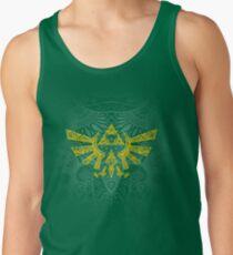 Emblema Hyrule Amarillo Camiseta de tirantes