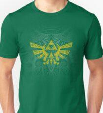 Emblema Hyrule Amarillo Camiseta ajustada
