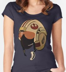 Rebel Pilot Women's Fitted Scoop T-Shirt