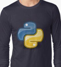 Python logo Long Sleeve T-Shirt