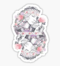 Queen of Roses Sticker