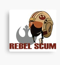 Rebel Scum Canvas Print