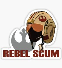 Rebel Scum Sticker