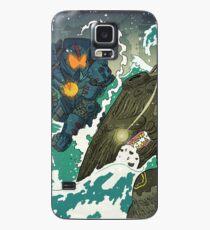 Funda/vinilo para Samsung Galaxy la costa del Pacífico