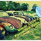 """""""Uncle Zeek's Preowned Auto Lot""""... prints and products by Bob Hall©"""