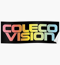 ColecoVision logo Poster
