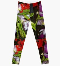 Asparagus Tips And Red Chilli Leggings