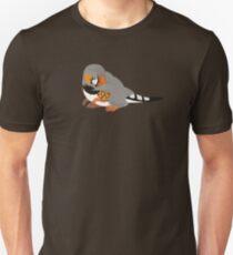 Dino Birds - Zebra Finch Unisex T-Shirt