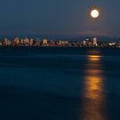0376 Moon over Water by DavidsArt