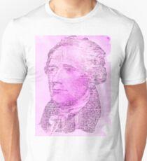 Hamilton Letters - Pink Unisex T-Shirt