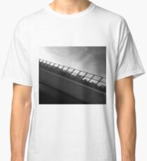 Grey Scale Bridge  Classic T-Shirt