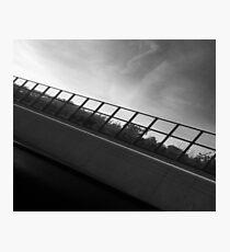 Grey Scale Bridge  Photographic Print