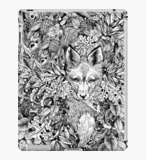 Vinilo o funda para iPad Escondiendo zorro