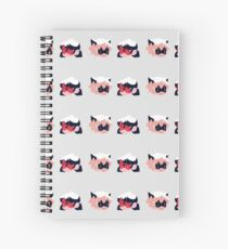 Ladynoir Spiral Notebook
