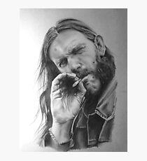Rip Lemmy - madun Photographic Print