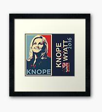 Knope Wyatt 2016 Framed Print