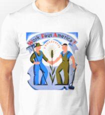 WPA-WORK PAYS AMERICA T-Shirt