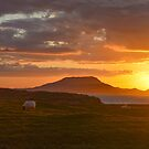 Clare Island Sunset by Jordyn Kirk
