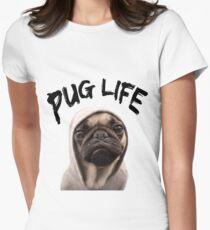 Mops Leben Tailliertes T-Shirt
