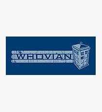 Whovian Photographic Print