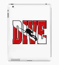 Big Scuba Dive Flag Original iPad Case/Skin