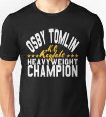 Osby The Champ (White Lettering W/Stars Unisex T-Shirt