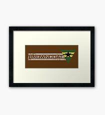 Browncoat Framed Print