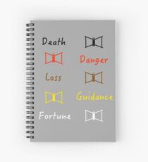 Totems Spiral Notebook