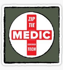 Zip Tie Medic Technician Sticker