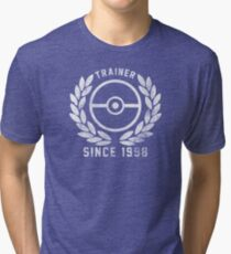 Pokemon Trainer! Tri-blend T-Shirt