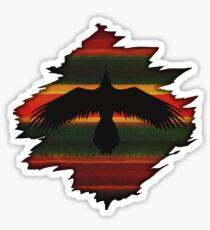 Rising Raven Sticker