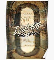 Exploring Past Centuries Fontainebleau Chateau France Architecture Poster