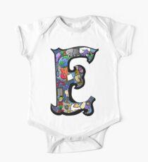Doodle Letter E Kids Clothes