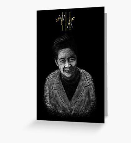 Chien Shiung Wu Greeting Card